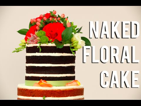 how to make a floral tiered wedding cake vanilla and
