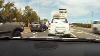 Geraldton to Perth Time Lapse