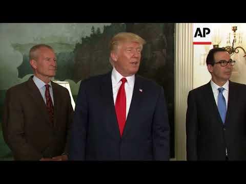 "Trump tells reporter: ""You're fake news"""