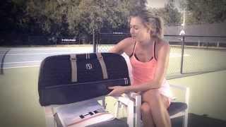 Gameraiser TV - Maria Sharapova's Racquet Bag