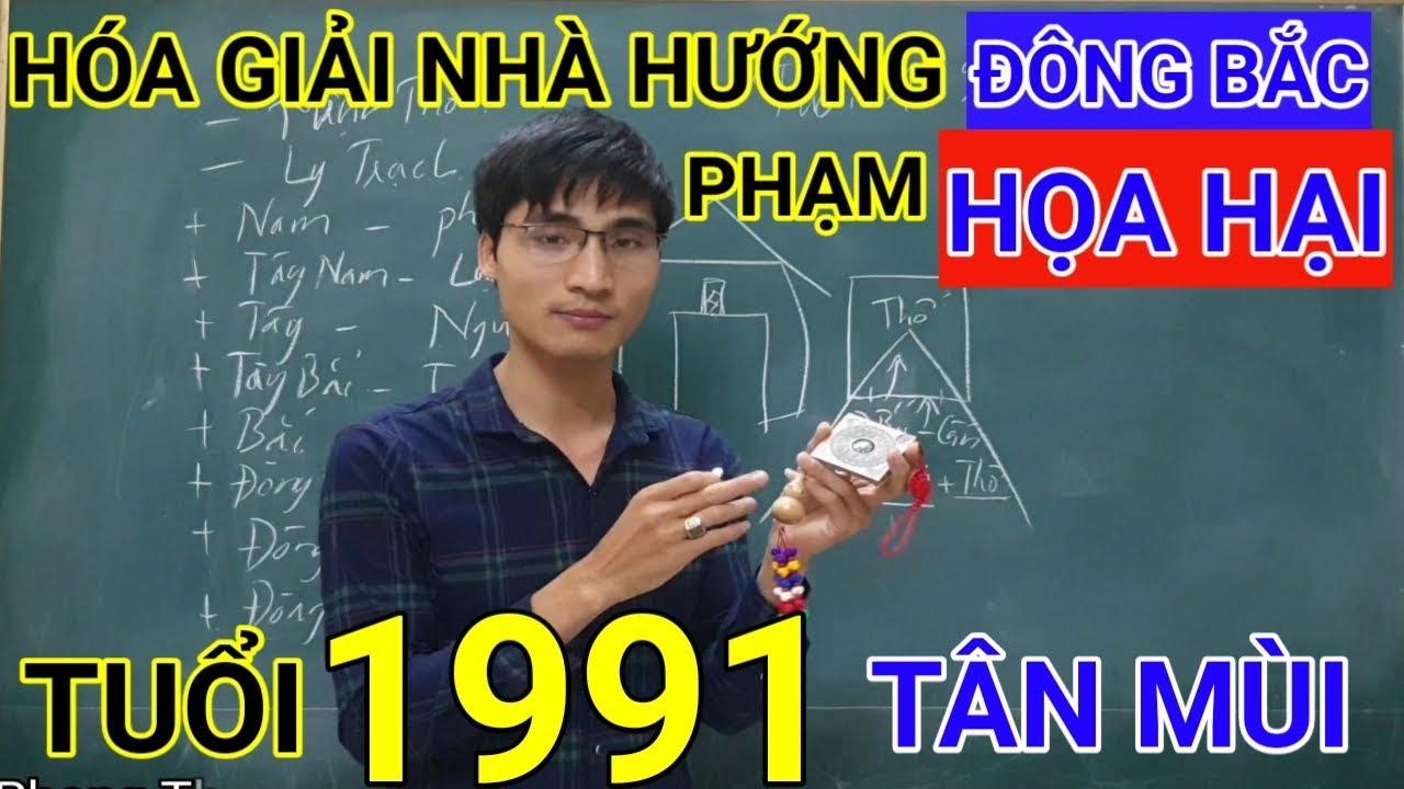 Tuổi Tân Mùi 1991 Nhà Hướng Đông Bắc | Hóa Giải Hướng Nhà Phạm Họa Hại Cho Tuoi Tan Mui 1991