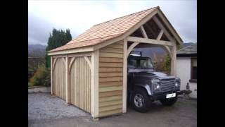 Bespoke Garages And Workshops Made By Carlisle Joiners Woodstyle Joinery