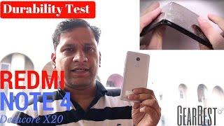 Hindi | Redmi Note 4 Durability Test | Helio X20 | Decacore X20 | Sharmaji Technical