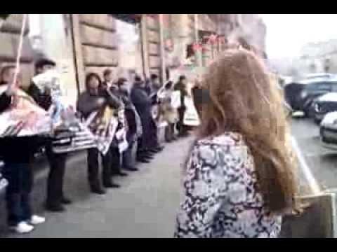 Пикет у посольства США 31 окт. 2013г. НАША СТРАНА-НАШИ ПРАВИЛА!