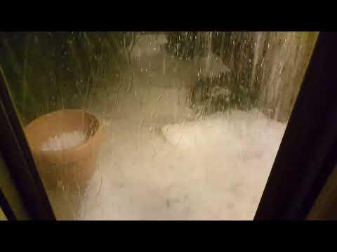 Heaviest hail ever in Colorado Springs