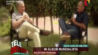 Mi álbum mundialista: Juan Carlos Oblitas cuenta las curiosidades de Perú en Argentina 78'