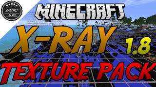 X-RAY Texture Pack 1.8 - Minecraft