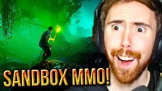 I'M EXCITED! Asmongold Reacts To Amazon's Upcoming MMORPG - New World