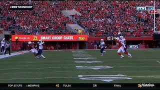 Stanley Morgan with the Amazing Catch vs. Northwestern
