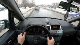 2011 Opel Zafira POV TEST Drive
