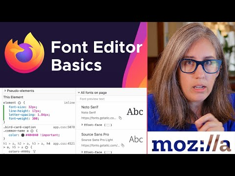 Quickly Alter Typography With Firefox Font Editor