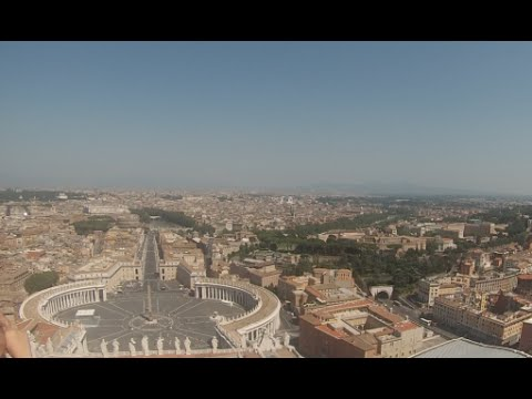Taking a Tour of The Vatican City, Rome, Italy