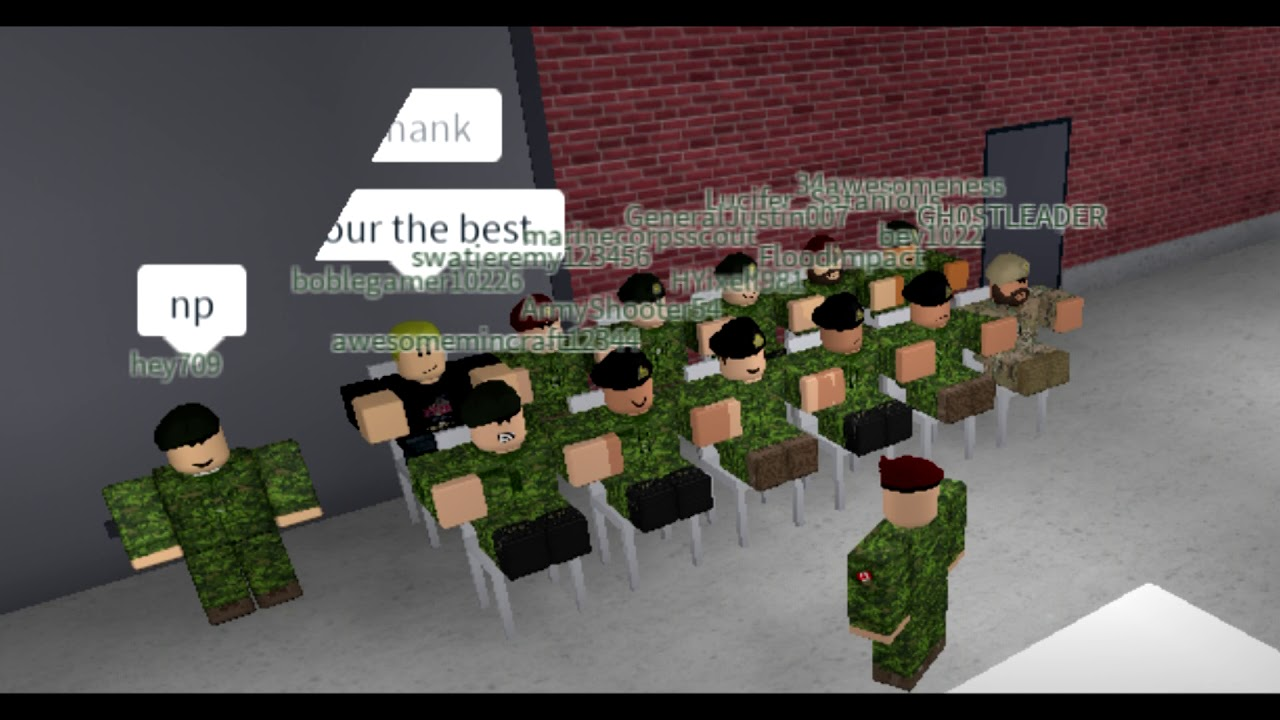 [ROBLOX] Canadian Armed Forces Roblox 2018