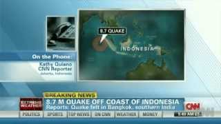 Earthquake 2012 - Tsunami Warning for Wednesday April 11, 2012