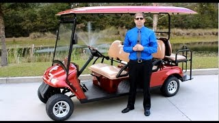 6pr Street Legal Golf Cart for Sale built by citEcar Electric Vehicles