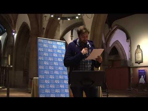 David Spittle for Tutul - English PEN Modern Literature Festival : Writers Centre Kingston