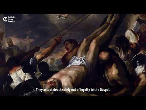 Pope Francis on the meaning of martyrdom