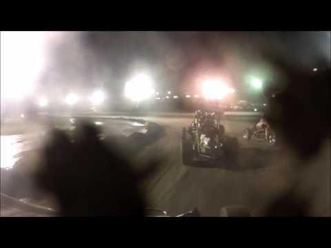 9-6-2014 Bear Ridge Speedway Dirt Midget Race #29