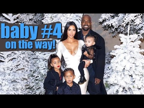 Kim Kardashian And Kanye West Can't Wait For Baby #4!