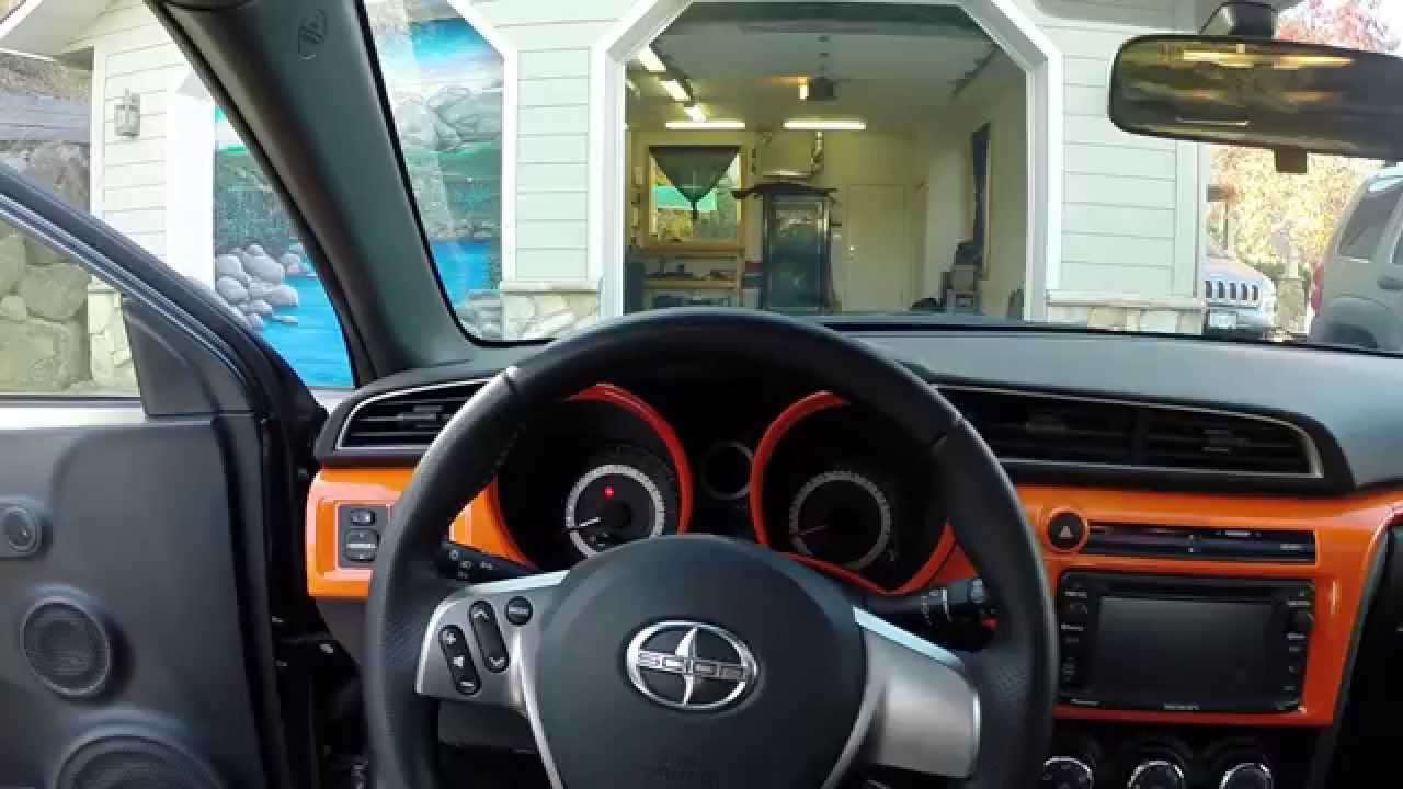 Attractive Pinstripe + Interior Vinyl Wrap   Scion TC 2014   YouTube