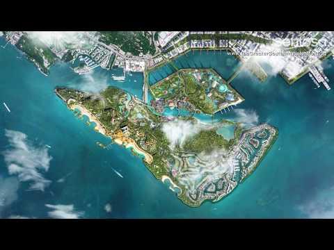 Sentosa Brani Master Plan - Greater Southern Waterfront