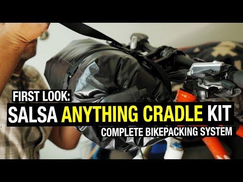 First Look: Salsa Anything Cradle Kit (Complete Bikepacking Handlebar System!)