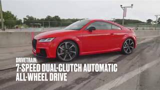 homepage tile video photo for Audi TT RS at Lightning Lap 2018