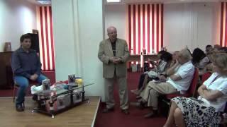 Lansare de carte la Biblioteca Judeteana Dambovita - Adrian Melicovici