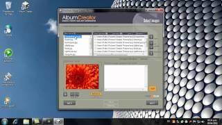 Album Web Flash con FirmTools Album Creator
