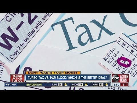 Don't Waste Your Money: Turbo Tax vs. H&R Block