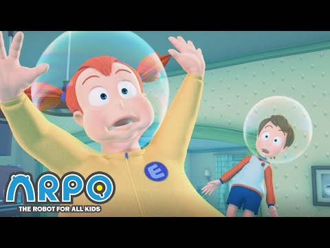 Arpo the Robot | HOUSE FLOOD!!! | Arpo Full Episodes | Compilation | Funny Cartoons for Kids