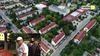 Drohnenflug WBG Elsterwerda eG - Sommerfest 2017