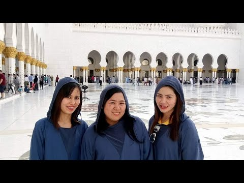 A Must Visit Place in the UAE/ Dubai Mall&Sheik Zayed Grand Mosque #throwback #buhayofw #dubai #uae