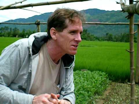 Vi's Family farm & house Vietnam,  July 2010