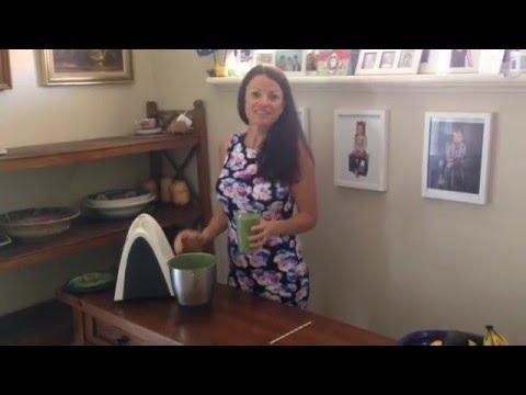 Quick Healthy Child Friendly Breakfast Smoothie Summer Fruits Recipe