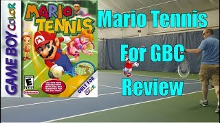 Mario Tennis for the GBC: Review