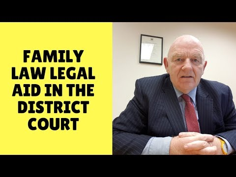 How the Family Law Legal Aid Scheme for District Court Works