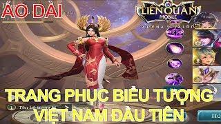 Trang phục biểu tượng Việt Nam xuất hiện ILUMIA Thiên nữ áo dài - Gái Việt Nam có điệu k?