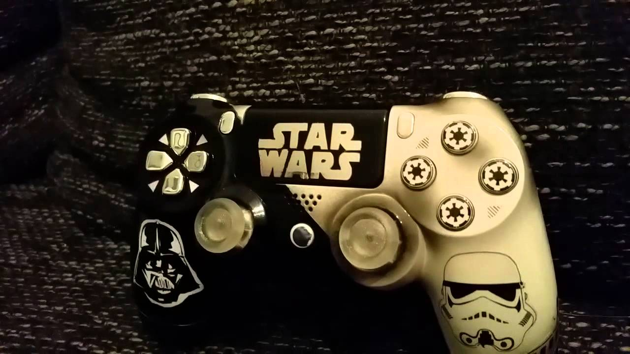 Star Wars Custom Ps4 Controller