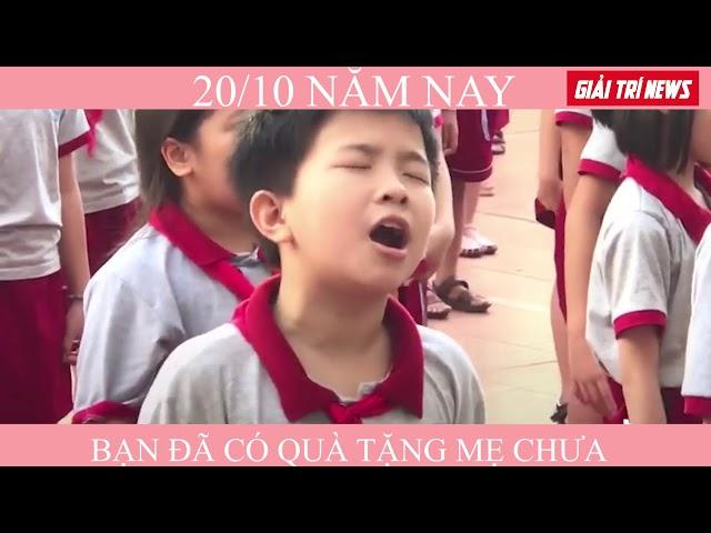 Cậu bé hát 20/10 nhập tâm hơn ca sĩ | Mẹ Yêu Ơi