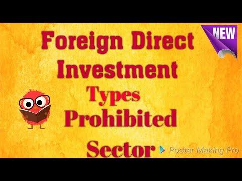 FDI | Types Of FDI | In Hindi