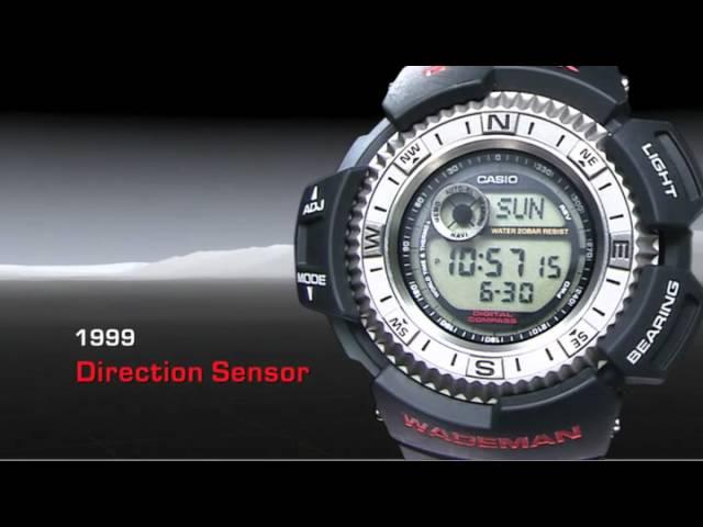 Evolution of G-Shock  Watch -- Function