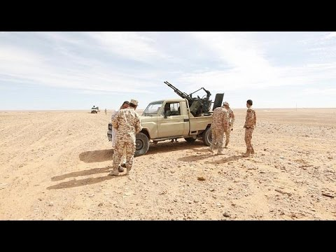 French forces 'leading war against IS in Libya'