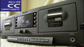 Philips FC931 non-Digital Compact Cassette deck unboxing, review & test