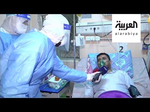 مشاهد لعملية نقل البلازما من متعاف لمصاب بكورونا  - نشر قبل 19 ساعة