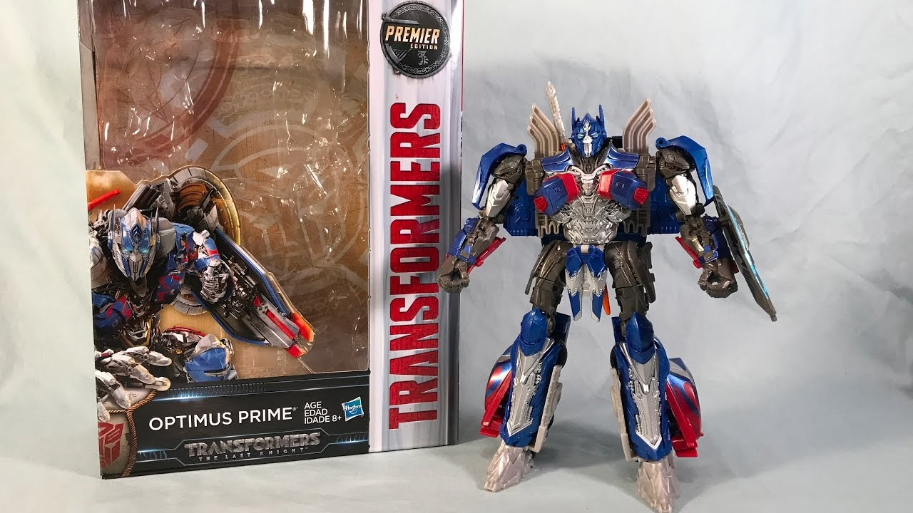 Optimus prime premier edition voyager class transformers the.
