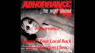 Watch Abhorrance Support Your Local Backalley Abortion Clinic video