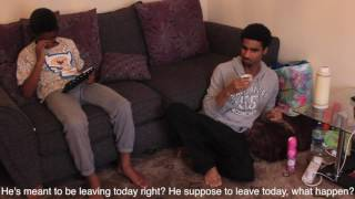 Swahili Comedy: African Guest with subtitle