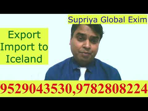 Export- Import to Iceland