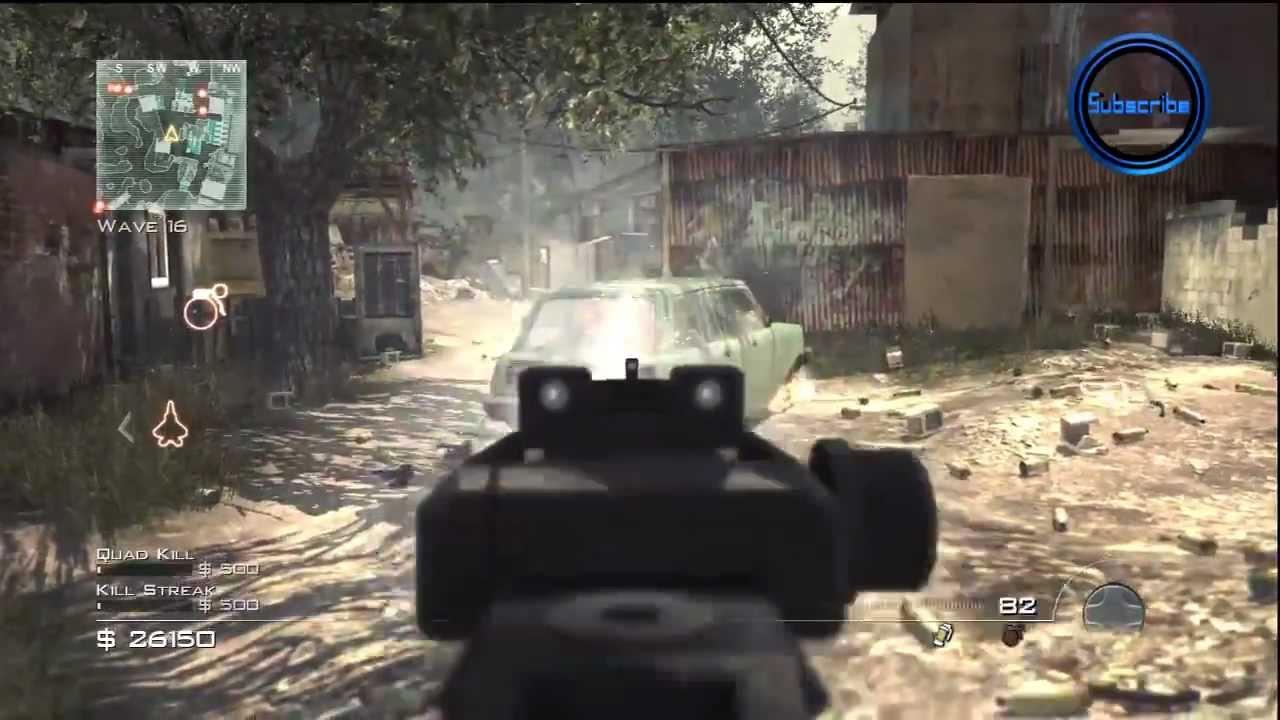 Call of Duty Modern Warfare 3 Survival Mode Underground ...